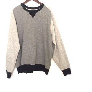 •J. Crew• Men's XL Color block fleece sweater